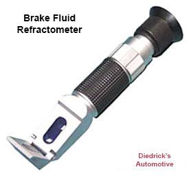 Brake Fluid Refractometer